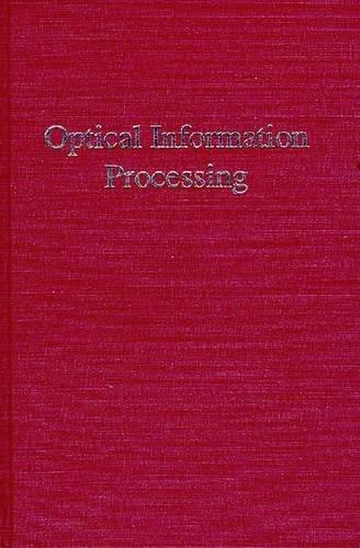 Optical Information Processing