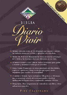 Biblia Del Diario Vivir Version Reina Valera 1960  Negra