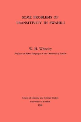 Some Problems of Transitivity in Swahili