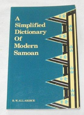 A Simplified Dictionary of Modern Samoan (Polynesian Press)