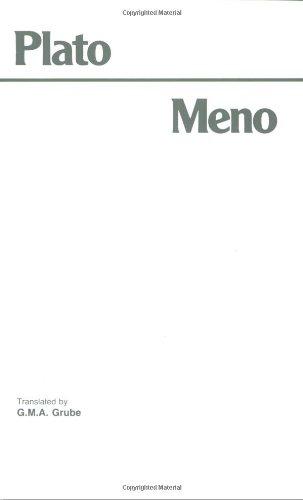 Platos meno thesis