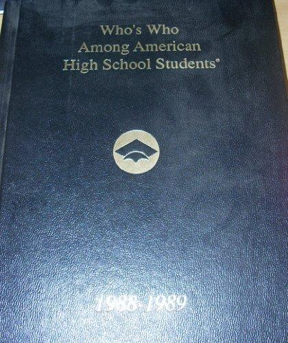 Who's Who Among American High School Students 1988-89 Volume XII