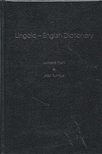 Lingala-English Dictionary