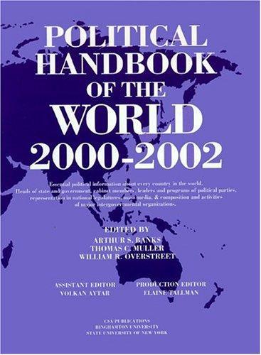 Political Handbook of the World: 2000-2002