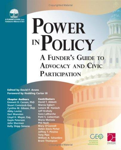 Power in Policy: A Funder's Guide to Advocacy and Civic Participation