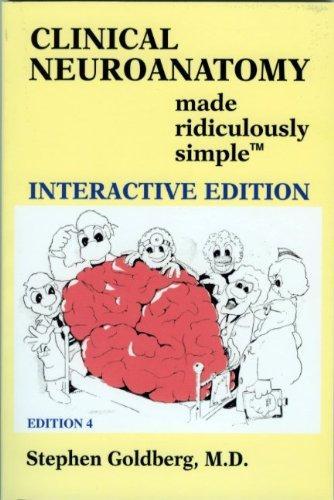 Clinical Neuroanatomy (Book & CD) (Made Ridiculously Simple)