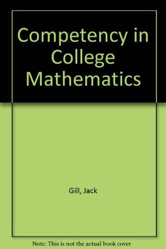 Competency in College Mathematics: 5th Edition