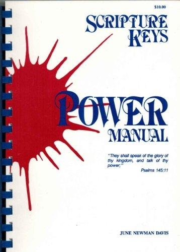 scripture keys power manual june newman davis
