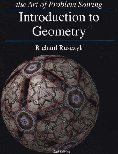 Introduction to Geometry (The Art of Problem Solving)