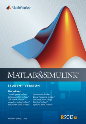 MATLAB and Simulink Student Version R2013a
