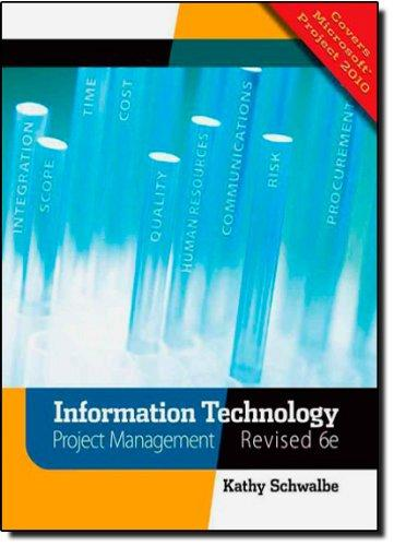 Information Technology Project Management, Revised (with Premium Online Content Printed Access Card)
