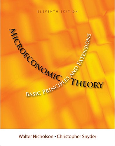 Microeconomics Theory (Book Only)