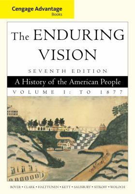 Cengage Advantage Books: The Enduring Vision, Volume I