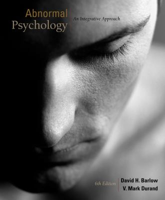 Cengage Advantage Books: Abnormal Psychology: An Integrative Approach (with CourseMate Printed Access Card)