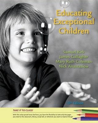 Cengage Advantage: Educating Exceptional Children