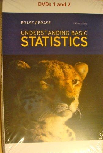 DVD for Brase/Brase's Understanding Basic Statistics, 6th