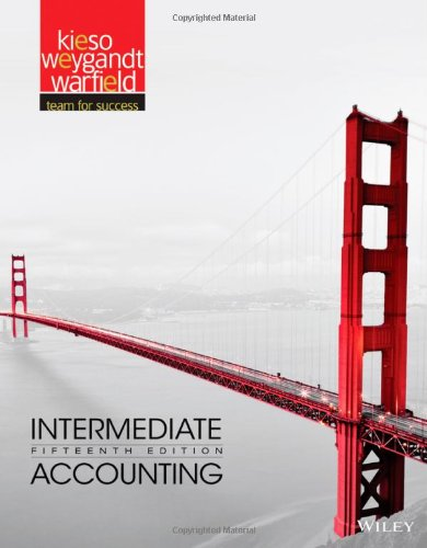 intermediate accounting solutions Access intermediate accounting 15th edition solutions now our solutions are written by chegg experts so you can be assured of the highest quality.