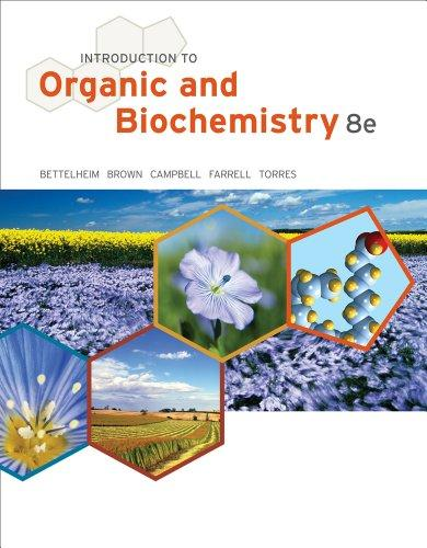 Introduction to Organic and Biochemistry (William H. Brown and Lawrence S. Brown)