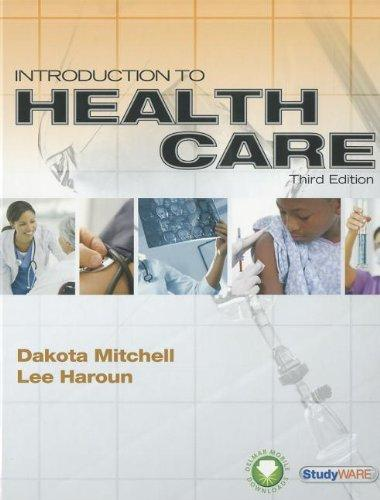 Introduction to Health Care (Book Only)