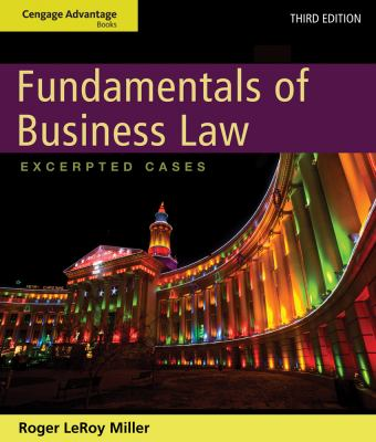Cengage Advantage Books: Fundamentals of Business Law: Excerpted Cases