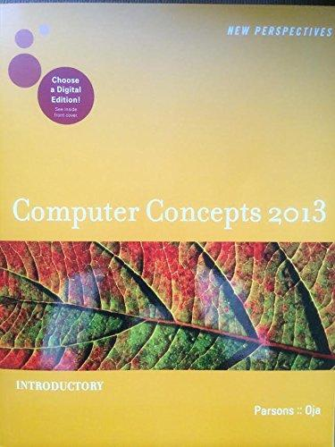 Computer Concepts, Introductory