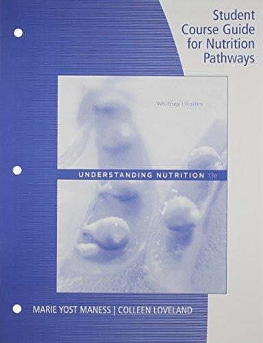 Student Course Guide: Nutrition Pathways
