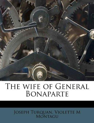 The wife of General Bonaparte