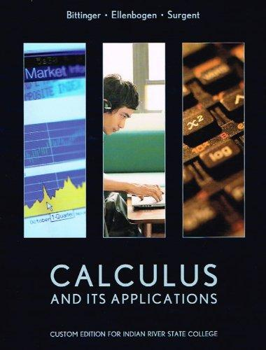 Calculus and Its Applications 11th Edition