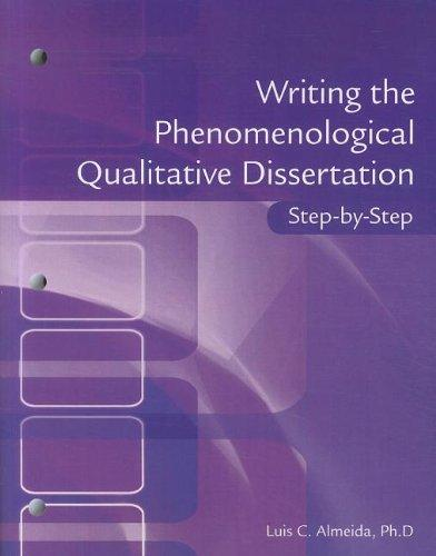 Doctoral Dissertation Help Qualitative