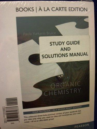 Organic Chemistry 7th Ed [Hardcover] + Study Guide  u0026 Solutions Manual [Loose Leaf] (Bundle) 7th