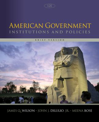 american government policies and institutions pdf