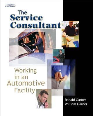 Service Consultant Working In An Automotive Facility