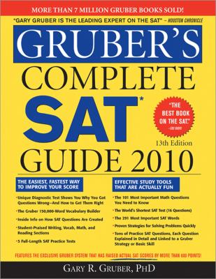 GRUBER'S COMPLETE SAT STUDY GUIDE?   Yahoo Answers