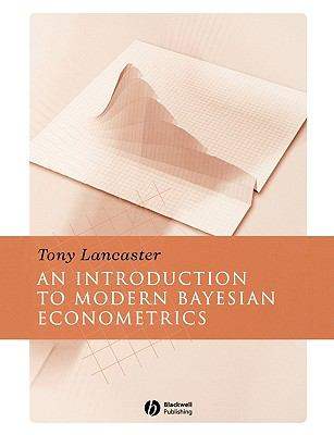 introduction to modern bayesian econometrics pdf