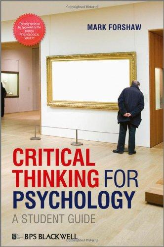 Is critical thinking important in psychology