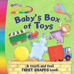 BABY'S BOX OF TOYS (Baby Gold Star Fabric)
