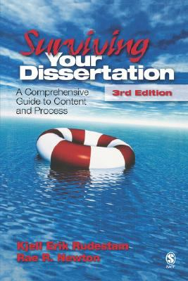 Surviving Your Dissertation A Comprehensive Guide to Content and Process