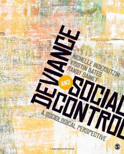 deviance and social control a sociological perspective pdf