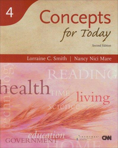 Concepts for Today, 2nd Edition  (Reading for Today Series, Book 4)