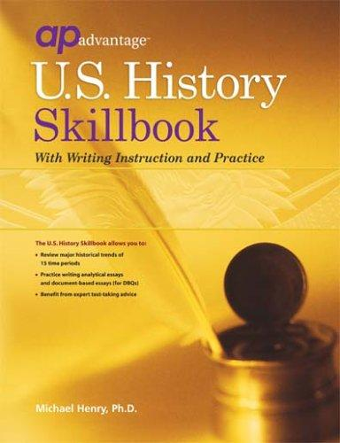 U.S. History Skillbook with Writing Instruction and Practice