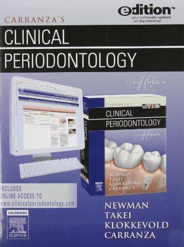 Carranza's Clinical Periodontology e-dition: Text with Continually Updated Online Reference, 10e