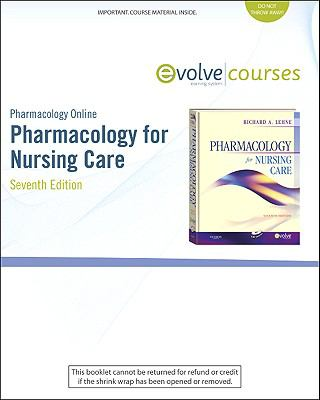 Pharmacology Online for Pharmacology for Nursing Care (User Guide and Access Code)