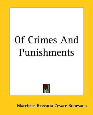 Of Crimes And Punishments