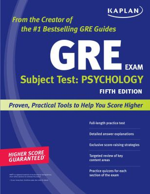 Top 7 Books for GRE Psychology Subject Test