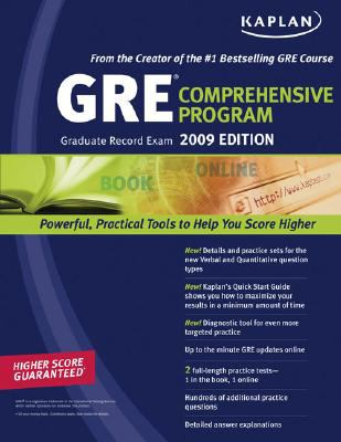 GRE Exam 2009, Comprehensive Program