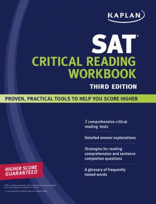 Kaplan SAT Critical Reading