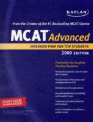 Kaplan Mcat 45, 2008-2009