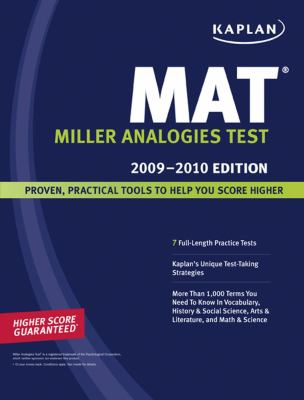 Kaplan MAT 2009-2010, 4E