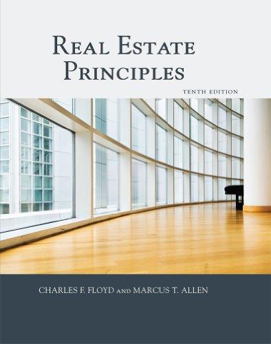 Real Estate Principles 1427724881 9781427724885