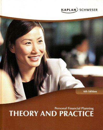 Personal Financial Planning: Theory and Practice